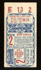 1946 World Series Ticket Stub GM 2 Red Sox & Cardinals
