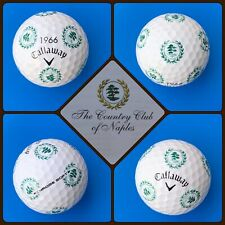(1) Callaway Chrome Soft Truvis Golf Ball - Country Club of Naples Florida - Usa