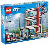 Lego City Set • Krankenhaus 60204 • Hospital • Rettungswagen Hubschrauber LEGO