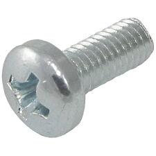 10 Laiton Cylindre Vis Fente M 5x10 DIN 84 joint de culasse ISO 1207