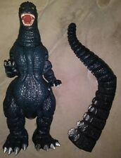 "Vintage 1993 Horizon 13"" Tall Godzilla Silver Dorsal Spines Highlights TOHO Co."