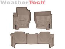 WeatherTech DigitalFit FloorLiner for Range Rover Sport - 2008-2013 - Tan