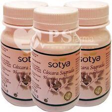 BOT016- CASCARA SAGRADA 500mg/3x100c Sotya ENVIO24h COLESTEROL