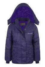 Manteaux, vestes et tenues de neige violet à capuche pour fille de 6 à 7 ans