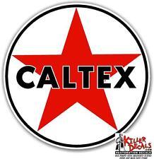 """12"""" CALTEX TEXACO GASOLINE GAS PUMP OIL TANK DECAL"""