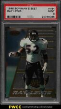 1996 Bowman's Best Ray Lewis ROOKIE RC #164 PSA 9 MINT