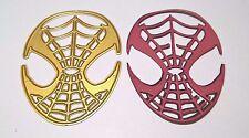 Maschera di Spider-Man taglio DIE Card Making Scrapbooking Diario Giornale Home Decor
