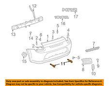 TOYOTA OEM 00-05 MR2 Spyder Rear Bumper-Tow Hook 5109317021