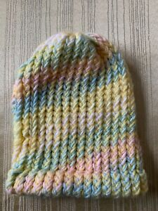 Handmade New Unused Knit Baby Hat, Cap