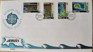 """Jersey Stamps """"Jersey Historic Events"""" First Day Cover 1982"""