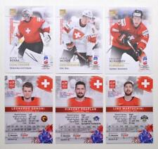 2019 BY cards IIHF World Championship Team Switzerland Pick a Player Card