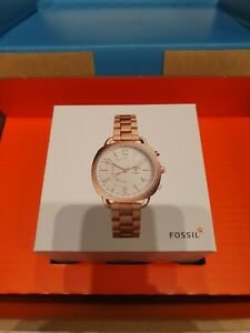 Fossil  Q Accomplice Hybrid Smart Watch Rose gold New In Box