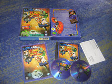 Earthworm Jim 1 e 2 prima edizione in PC Big Box da collezione con istruzioni tedesco
