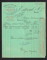 """IVRY-sur-SEINE (94) USINE de CONSERVES ALIMENTAIRES """"ESTIVAL & Cie"""" en 1914"""