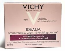 Vichy Idealia Smoothness & Glow - Energising Cream Dry Skin - 50ml Exp. 02.2020