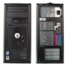 DELL 760 TOWER CORE2DUO 2.9GHz/3GB RAM/250GB HDD/DVDRW/WINDOWS XP PRO/RESTORE CD