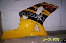 SUZUKI GSXR600 750 2002 RH LOWER COWLING FAIRING USED  S202