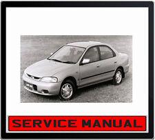 FORD LASER KJ 1994-1998 B6 BP ENGINE REPAIR SERVICE MANUAL IN DVD