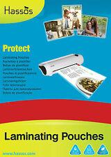 More details for a3 a4 a5 laminating pouches micron laminator machine laminate pouches sheets