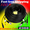 Lot 2  PTZ Extension Cable Power & Video & RS-485 Control Cable 100Ft for Q-see