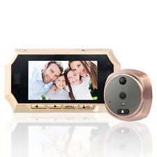 "LCD 4.3""  Peephole Viewer Bell Door Eye Doorbell Color Home Security  IR Camera"