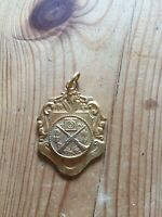 VINTAGE  MEDAL MEDALLION ARTILLERY RIFLE SHOOTING MEDAL