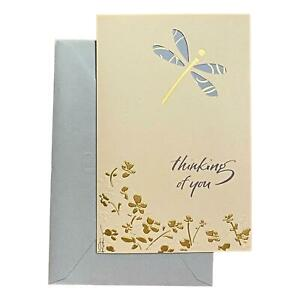 Sympathy Greeting Card for Loved Ones, Family and Friends - Thinking of You - De