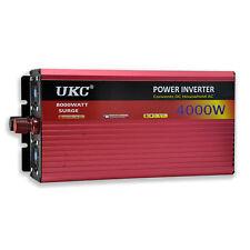UKC 12V 4000W/4K Watt Modified Sine Wave Inverter 12V 220V Car power Inverter