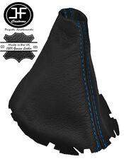 Manual De Costura Azul Cuero Real Vw Scirocco III de Engranajes Polaina se adapta a 2008-2013