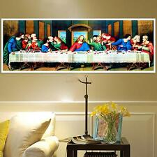 80*30cm The Last Supper 5D DIY Diamond Painting Embroidery Cross Stitch Decor 5H
