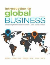 Introduction to Global Business : Understanding the International Environment...