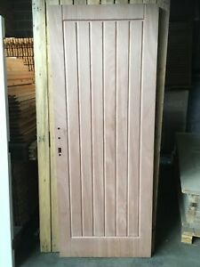 New Unused Paint Grade Jeld Wen Insulux External Door 775mm x 1986mm x 55mm