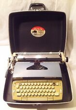 Vintage 1969 * Smith Corona * Electra 120 * Electric Typewriter With Case Works