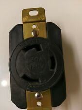 Marinco Nema L5-30 30A 125V Twist Lock L5-30 Female Wall Receptacle Socket