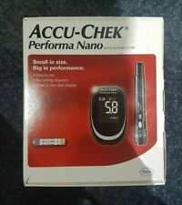 Accu Chek Performa Nano Blood Glucose Diabetic Meter/Monitor/System +Test Strips