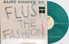 ALICE COOPER LP Flush The Fashion GREEN Swirl Vinyl LIMITED Edition 2018 SEALED