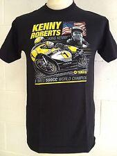 "Kenny Roberts ""King Kenny "" 3 Volte 500cc World Champion T-SHIRT - Medio M"