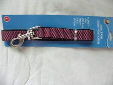 "Purple Adjustable Dog Leash Size 48"" Long Width 0.8"""