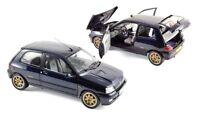 MODELLINO AUTO SCALA 1/18 RENAULT CLIO WILLIAMS NOREV DIECAST CAR MODEL COCHE