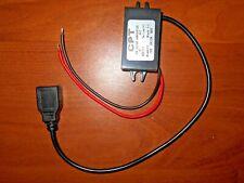 DC-DC Converter Module 12V To 5V USB Plug Output Power Reducer Adapter 3A 15W