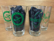 Flying Fish Brewing Co. Proudly Brewed In NJ 16 oz. Pint Glasses  Set of 4 ~ NEW