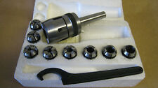 2MT COLLET CHUCK SET c/w 8 METRIC COLLETS Direct from Toolco UK