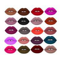 Women Sexy Waterproof Long Lasting Makeup Matte Velvet Liquid Lipstick Lip Gloss