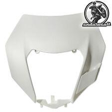 Lampenmaske weiss KTM EXC/F/125/200/250/300/350/450/500 (Lampe,Scheinwerfer)