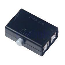 USB 2.0 Sharing Switch Box Hub 2 Ports PC Computer Scanner Drucker-Handbuch GE