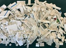 LEGO White Bricks Mixed Bulk Lot 100s of Pieces GOOD VARIETY Parts Over 1lb