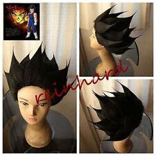 0015 Seven Dragon Ball Vegeta Black Cosplay Party Wig Animation Modeling Wig