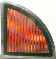 SEEBURG USC-2 JUKEBOX part: RIGHT SIDE GRAPHIC SHEET & GLASS & FRAME
