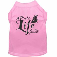 Mirage Pet Products A Pirate's Life Embroidered Dog Shirt Light Pink Lg (14)