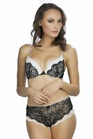 Hers By Herman Womens Sexy Kishes of Envy Pushup Bra with Matching Mini Boy Sh..
